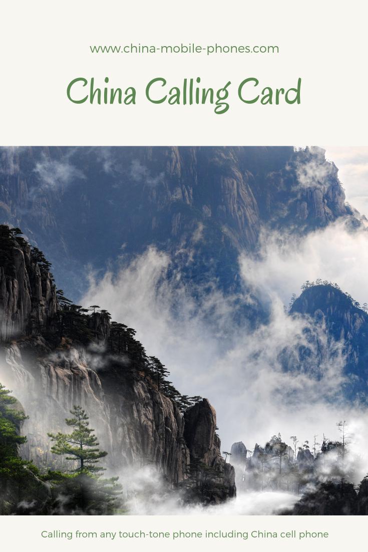china calling card