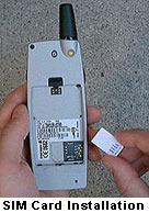 Install a SIM Card