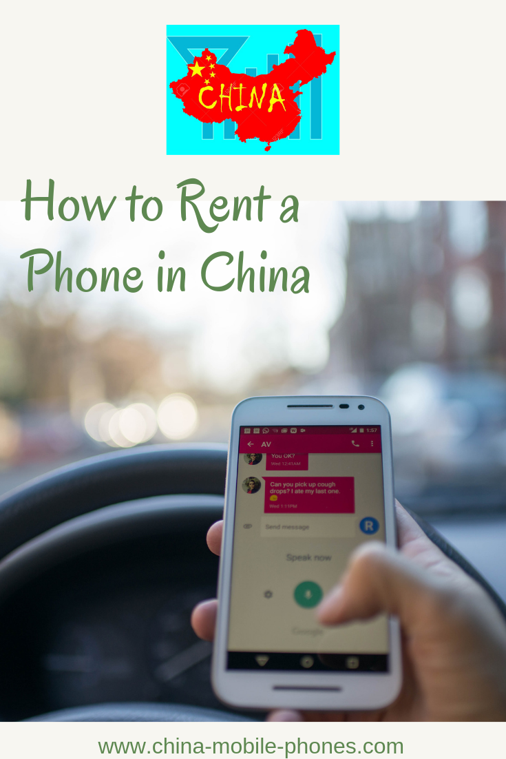 China Cell Phone Rental | China Mobile Phone Rental