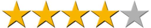 4 stars rating reviews