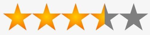 4.5 stars rating reviews